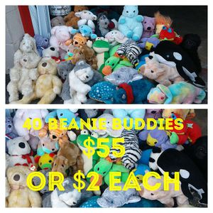 40 beanie buddies for Sale in Houston, TX