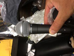 Shure mic sm58 for Sale in Morgan Hill, CA