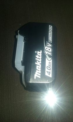 Makita 18v battery price is firm for Sale in Fontana,  CA
