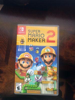 Super Mario maker 2 for Sale in Dallas, TX