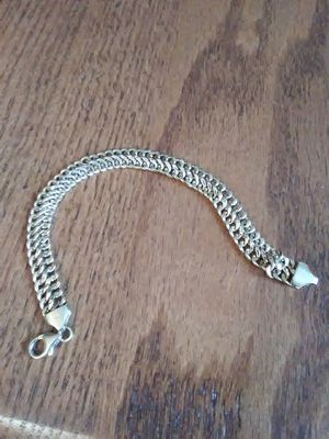 18K YELLOW GOLD BRACELET WITH LOBSTER CLAW CLASP for Sale in Lakewood, CO