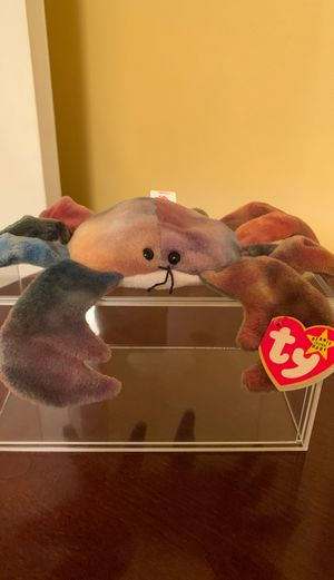Claude the tie-dyed crab beanie baby for Sale in Columbia, SC
