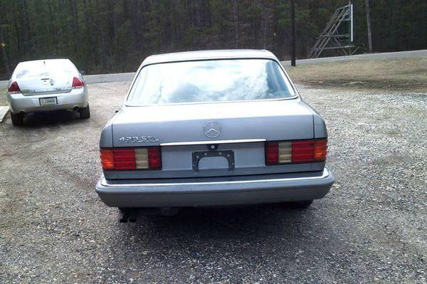 1988 Mercedes-Benz 420-Class