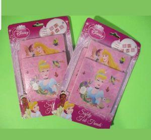 *NEW* 2 pkg Disney Princess SAFETY TUB TREADS 5 Bathtub Pieces Home Solutions for Sale for sale  Paterson, NJ