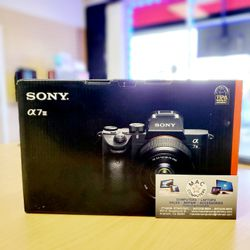 SONY A7III (Body Only) (No credit needed payment option plan! Put $39 down and get your items TODAY!) for Sale in Fresno,  CA