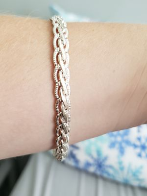 Fashion Bracelet Silver 925 for Sale in Downers Grove, IL