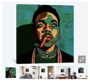 Chance the Rapper canvas for Sale in Maple Valley, WA