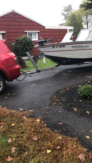 1998 starcraft 17ft aluminum boat for Sale in Windsor Locks, CT