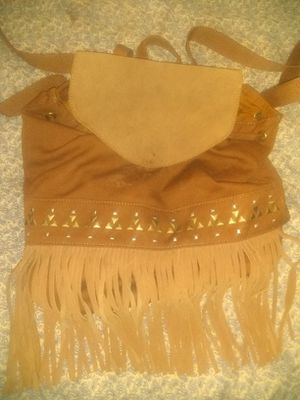 American Eagle Suede Fringe Backpack Purse for Sale in Pittsburgh, PA