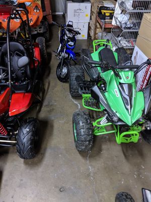 Falcon end of year sale. 125cc. ATVs wholesale price. 5 left. Order on line only for Sale in Riverside, CA