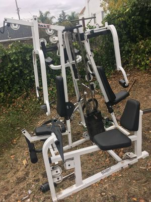 "Muscle 3"" tuff stuff ""with +all options 7 station home gym for Sale in Oakland, CA"