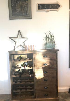 Wine Bar- World Market- Farmhouse- Rustic-Classic for Sale in Queen Creek, AZ
