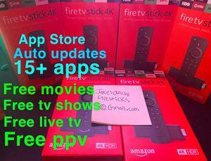 Unlocked Amazon 4k firestick 🔓🔥 for Sale in Plainfield, IL