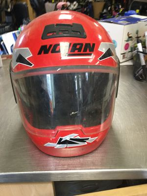 Nolan motorcycle helmet red size small for Sale in Matawan, NJ