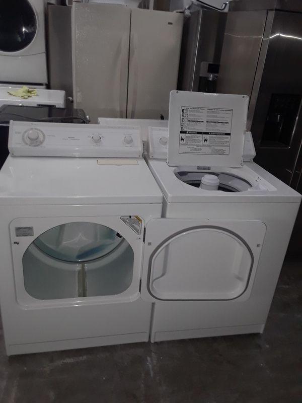 Washer and dryer electric whirlpool good condition 90 days warranty labadora y secadora electrica whirlpool buenas condiciones 90 dias de garantia