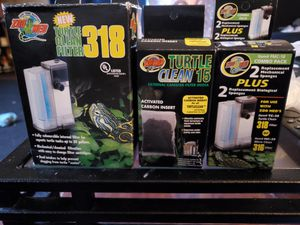 Turtle clean filter (PUMP) CAN BE USED FOR SMALL FISH TANK for Sale in Mount Healthy, OH