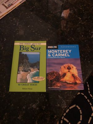 New Big Sur & Monterey / Carmel Travel Books for Sale in West Bloomfield Township, MI