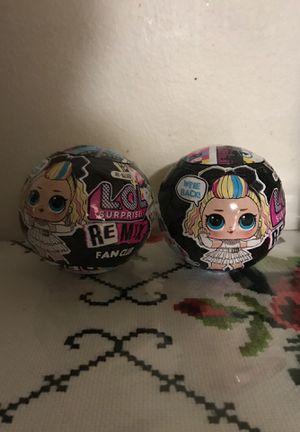 Lol surprise remix fan club balls for Sale in El Cajon, CA
