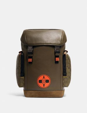 Coach X Michael B. Jordan Ranger Backpack With Signature Canvas Detail for Sale in Orlando, FL