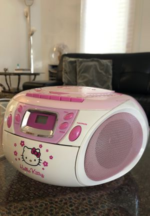 Pink Radio & CD Player (Hello Kitty) for Sale in Beverly Hills, CA