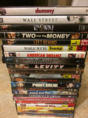 tons of different dvds for Sale in Marengo, OH