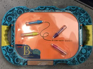 Brand New ! B Toys Water Drawing Board H2 Whoa ! Mess Free Art Activity for Kids ! for Sale in Chino Hills, CA