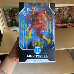 McFarlane Dc Multiverse The Flash for Sale in Montebello, CA