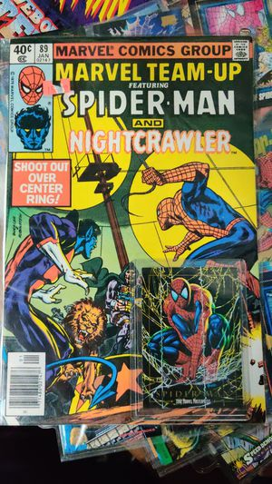 Spider-Man lot: 20 comics, 90 cards, 1 action figure for Sale in Seattle, WA