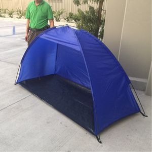 New in box $15 each 7x3 feet beach tent sun shade 3 person use blue color for Sale in Covina, CA