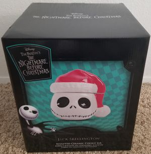 Vandor Nightmare Before Christmas Jack Christmas Cookie Jar Santa for Sale in Spring Valley, CA