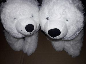 Twin Adorable Soft Fluffy White Polar Bears, Stuffed Bears, Brand New. , Offer And Buy for Sale in San Diego, CA