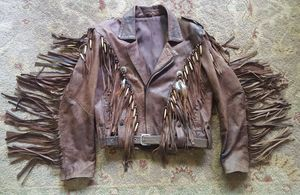 Custom ladies leather jacket for Sale in WILOUGHBY HLS, OH