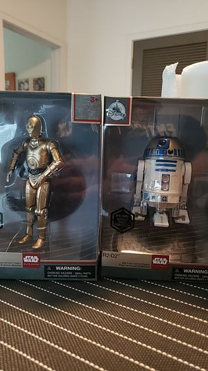 Star Wars Elite Series- R2D2 &C3PO - Sold as a Pair- not individually for sale. for Sale in Cypress, TX
