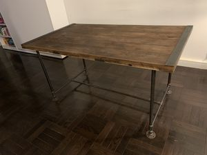 Industrial style dining table for Sale in New York, NY
