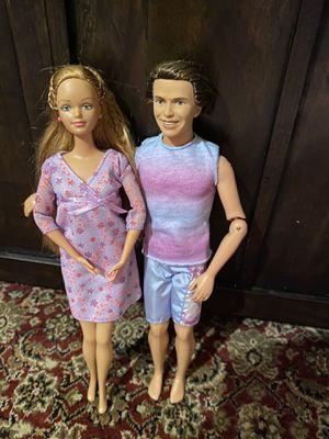 Happy family midge and Allen Barbie for Sale in Garden City, MI