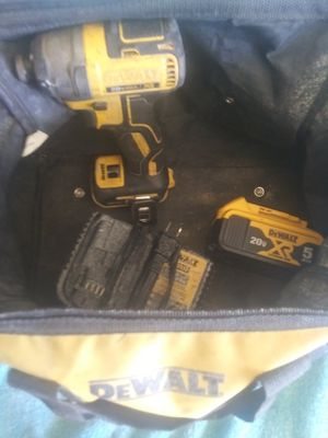 Impact and battery and charger + tote bag for Sale in Summersville, WV
