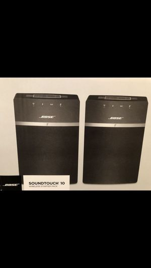 Bose soundtouch 10 pair brand new in box for Sale in Detroit, MI