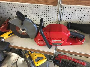 milwaukee concrete saw (2786-20) w/1 batter & charger for Sale in Austin, TX