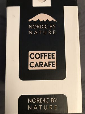 Coffee carafe Nordic by nature * cold brew coffee maker* for Sale in Germantown, MD