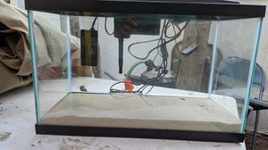 10 Gallon Complete Aquarium with Accessories for Sale in San Bernardino, CA