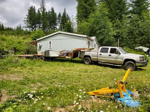 5th wheel flatbed trailer 35' for Sale in Camas, WA
