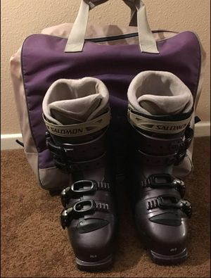 Salomon ski women boots for Sale in Fullerton, CA