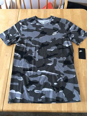 Brand new Nike sportswear camo shirt military men's M, L, XL for Sale in Spring Valley, CA