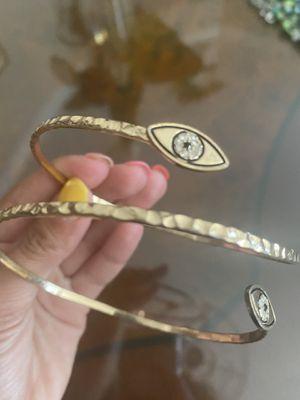 Evil Eye Gold Arm Bracelet for Sale in Los Angeles, CA