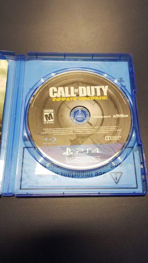 PS4 Calk of Duty Infinite Warfare (777929-14 for Sale in Tacoma, WA