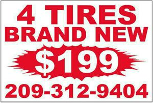 Brand new tires for Sale in Modesto, CA