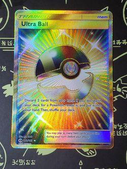 Pokemon TCG: Secret Rare Ultra Ball Full Art 161/149 for Sale in Las Vegas,  NV