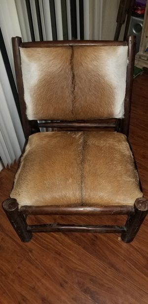 Cowhide chair for Sale in Ontario, CA