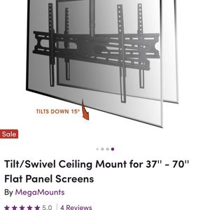 Calling Mount That Can Hold 2 TV'' 100 Pounds Each Side for Sale in Bothell, WA
