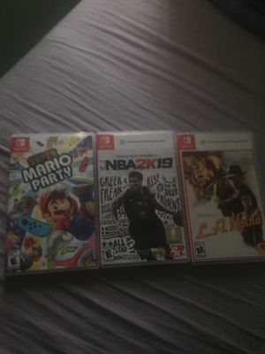 Selling Switch games for Sale in Miami, FL